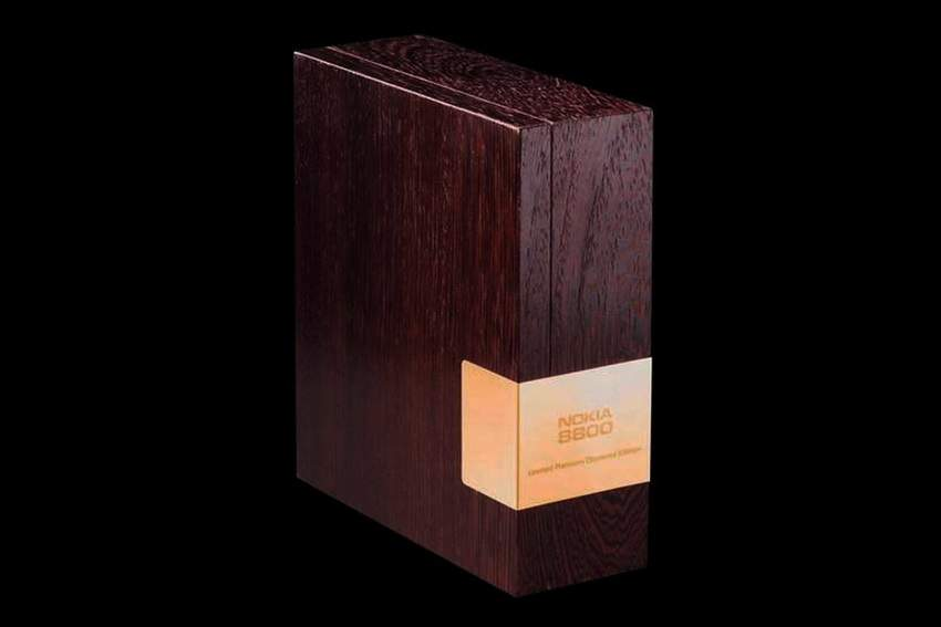 MJ Wood Luxury Box for Nokia 8800 MJ Limited Edition